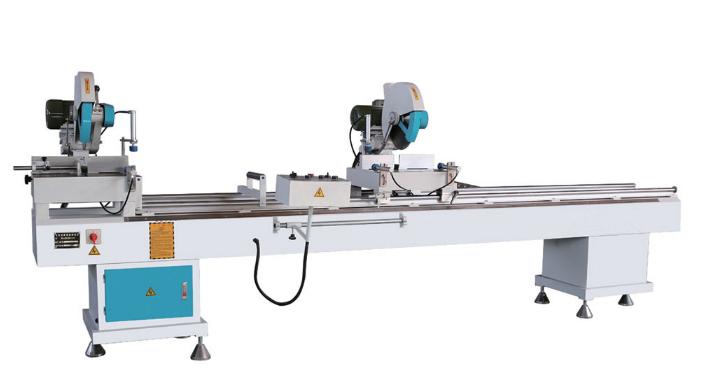 铝塑型材双角切割锯LJZ2-350磕头锯