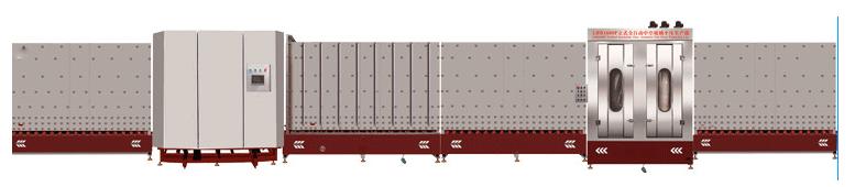 LBP1800内合片立式中空玻璃板压生产线